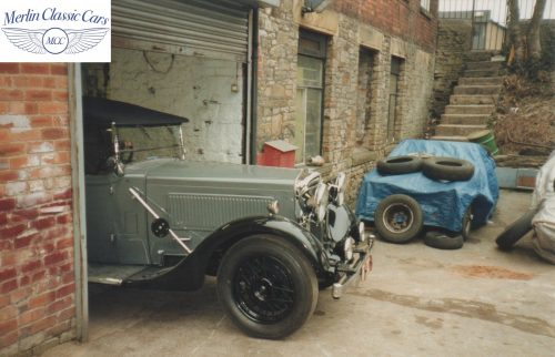 Morris Showcar For Earl's Court Restoration Photos 1934 Only One Of It's Kind (9)