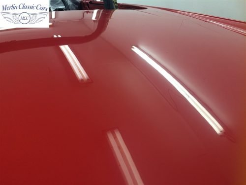 Paintwork Refinishing Example Refinishing 3 Flatted With 3000's Grit Sandpaper MGB Roadster 4