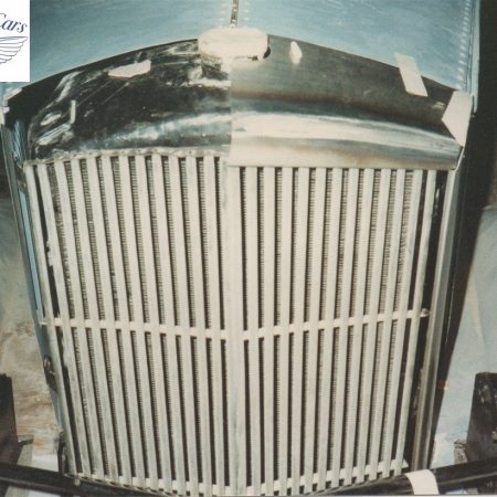 Railton Radiator Surround Fabrication & Restoration Photos