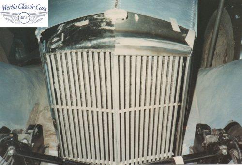 Railton Radiator Surround Fabrication & Restoration Photos