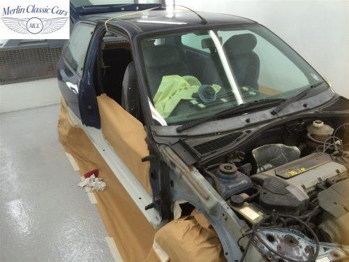 Renault Clio Williams Metalwork Sills & Partial Respray 2