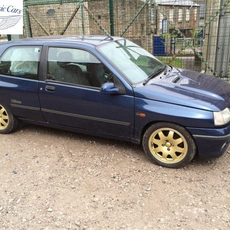 Renault Clio Williams Metalwork Sills & Partial Respray 4