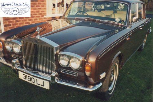 Rolls Royce Shadow Restoration 1