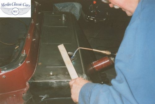 SS Jaguar Fuel Tank Fabrication