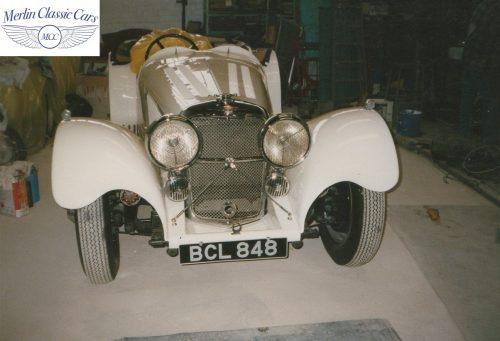 SS Jaguar Restoration 2