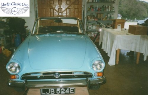 Sunbeam Alpine Restoration Photos 3