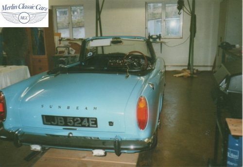 Sunbeam Alpine Restoration Photos 5