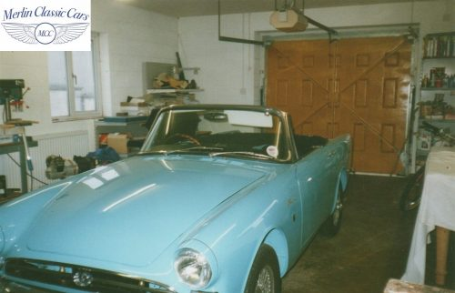 Sunbeam Alpine Restoration Photos 6