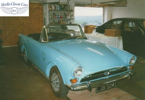 Sunbeam Alpine Restoration Photos 7