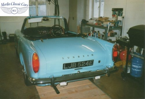 Sunbeam Alpine Restoration Photos 8