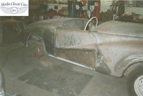 Sunbeam Talbot Alpine Restoration 1953 1