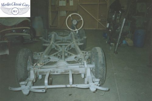Sunbeam Talbot Alpine Restoration 1953 3