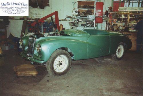 Sunbeam Talbot Alpine Restoration 1953 4