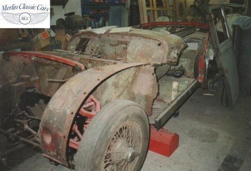 Triumph TR3A Restoration Concours TR Rose Winner 1