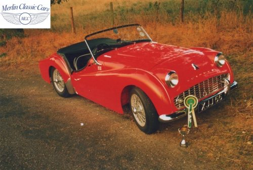 Triumph TR3A Restoration Concours TR Rose Winner 3