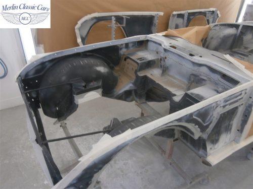 Triumph TR4 Restoration 1