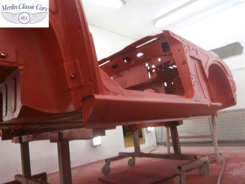 Triumph TR4 Restoration 11
