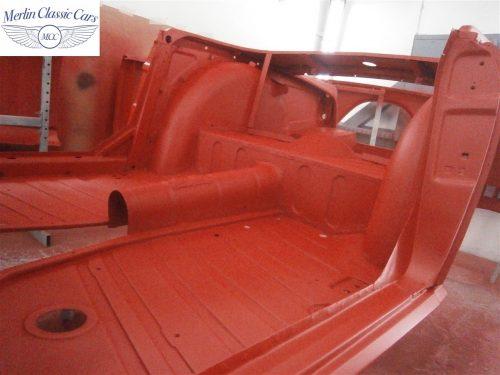 Triumph TR4 Restoration 14