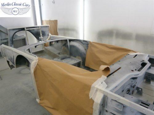 Triumph TR4 Restoration 3