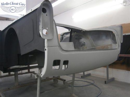 Triumph TR4 Restoration 6