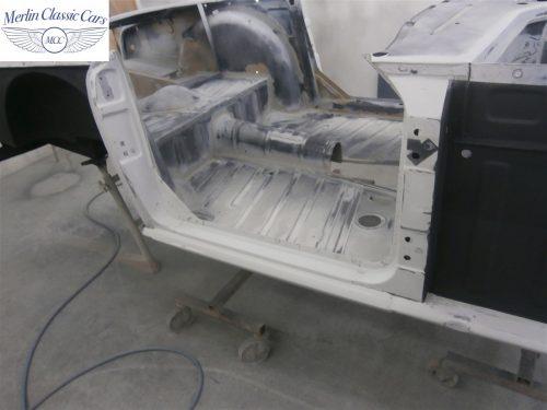 Triumph TR4 Restoration 9