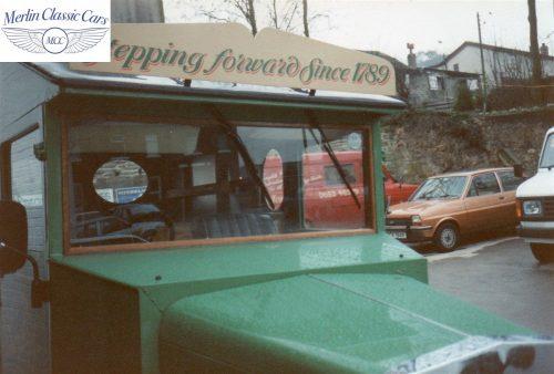 Vintage Van Replica Build 1