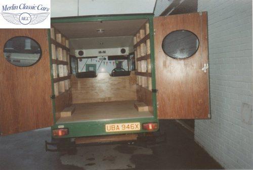 Vintage Van Replica Build 11