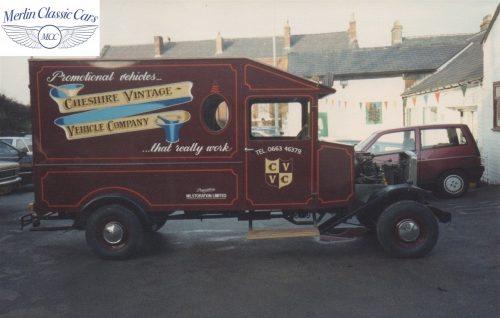 Vintage Van Replica Build 14