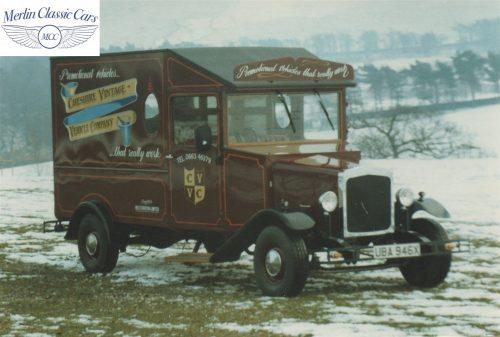 Vintage Van Replica Build 15