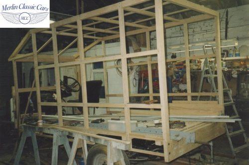 Vintage Van Replica Build 16