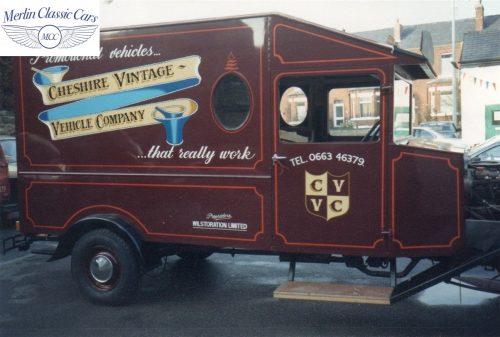 Vintage Van Replica Build 3