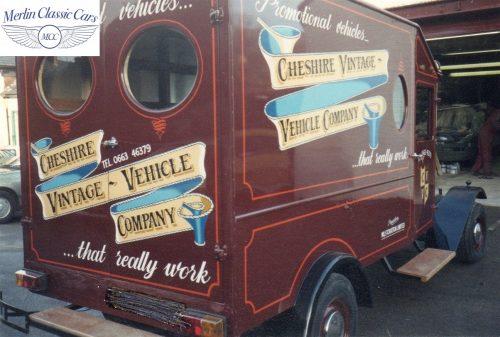 Vintage Van Replica Build 6